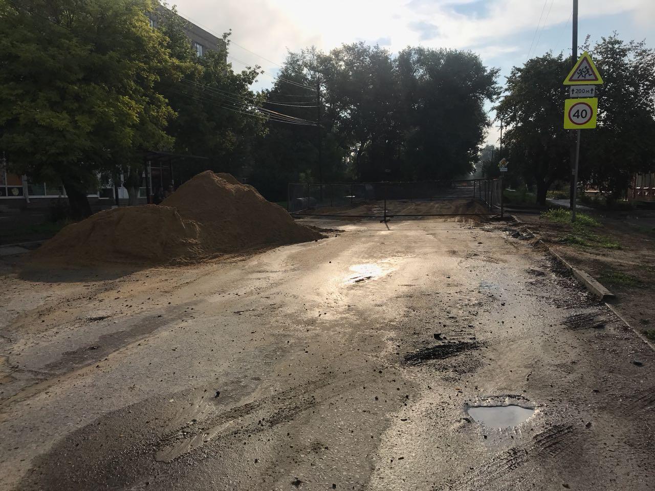 В Таганроге 307 метров на аварийном участке коллектора по улице Шило восстановлено