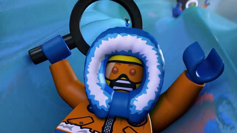 Мультфильм LEGO City Исследуй Арктику