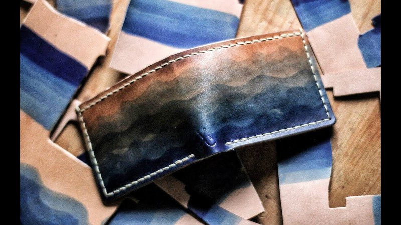 Leather Crafting - Making the Wave Wallet