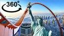 360 VR VIDEOS Roller Coaster VR 360° 4K for VR BOX Virtual Reality Videos