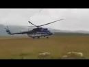 Жесткая посадка Ми-171 на Эльбрусе попала на видео