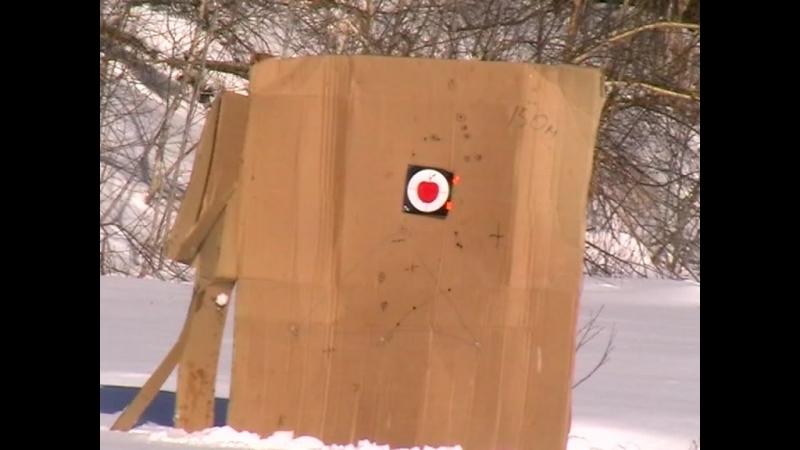 Стрельба из 410к-04 50 и 100 метров