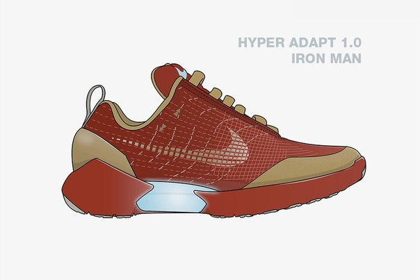Visualization of Avengers x Nike Collaboration