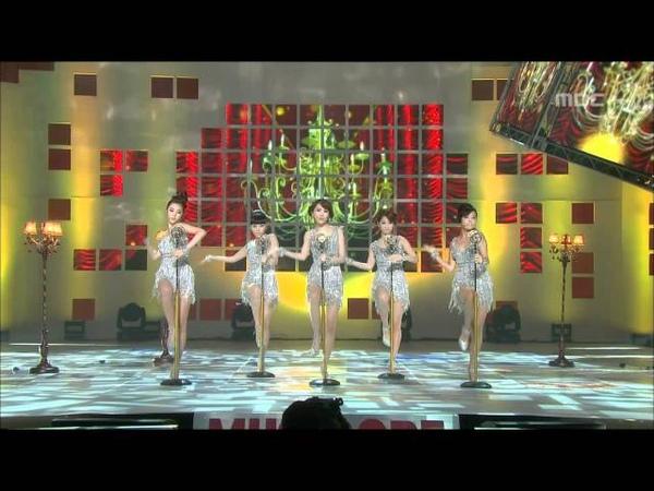 Wonder Girls - Nobody, 원더걸스 - 노바디, Music Core 20081025