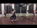 Bachata, фрагмент урока, Алан и Наталия, школа танцев Держи Ритм