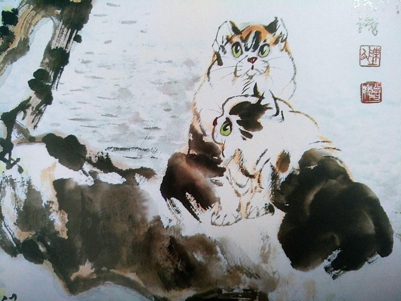 Коты в китайской живописи 2
