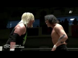 AKIRA, Akitoshi Saito, Shiro Koshinaka vs. FUJITA, MAZADA, NOSAWA Rongai (Riki Choshu Produce - Power Hall 2018)