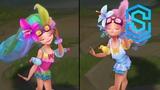 Pool Party Zoe Chroma Skins
