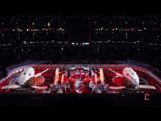 Chicago blackhawks projection show
