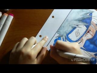 AMW-drawing kakashi