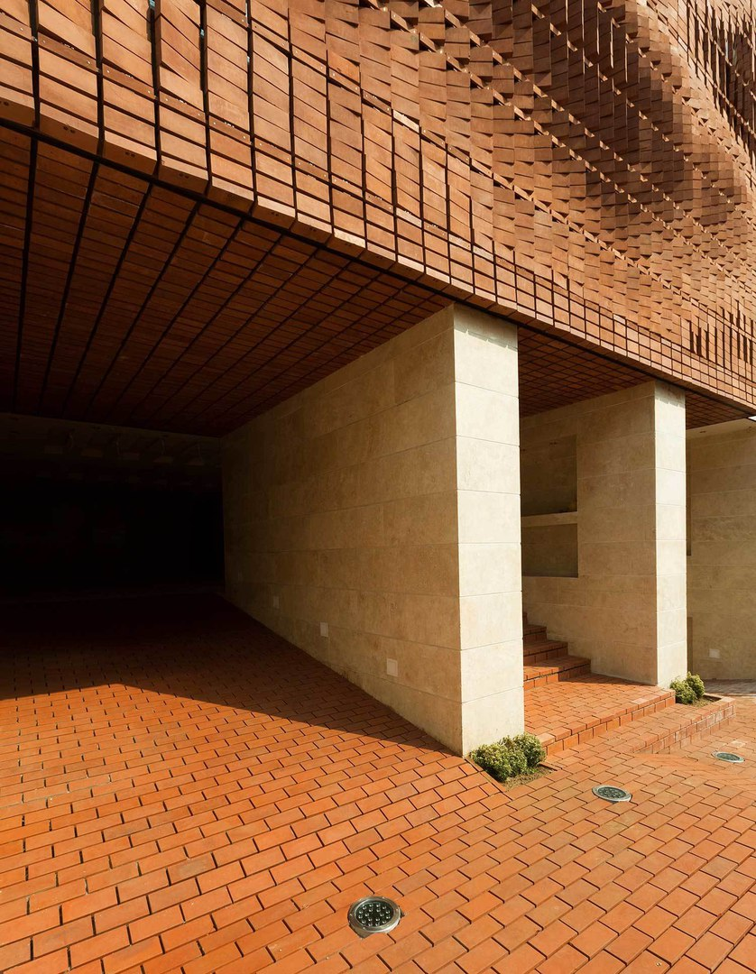 Cloaked in Bricks by Admun Design and Construction Studio.