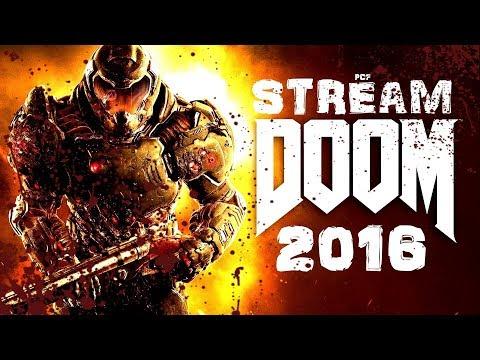 [СТРИМ] ДРАЙВ, ПУШКИ И МОРЕ ДЕМОНОВ \ Doom (2016) \ PixelCakesFan