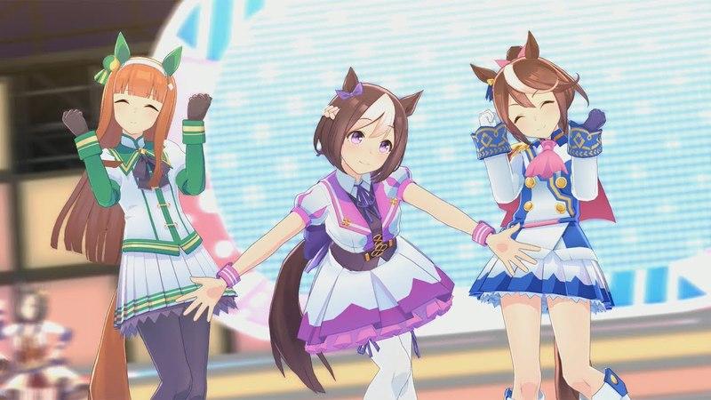 Uma musume (геймплей 1)【ウマ娘 プリティーダービー】ゲームプレイ動画 ウイニングラ1245
