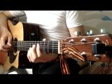 «Тёмная ночь» (fingerstyle) guitar.A_Sorochinskogo♫