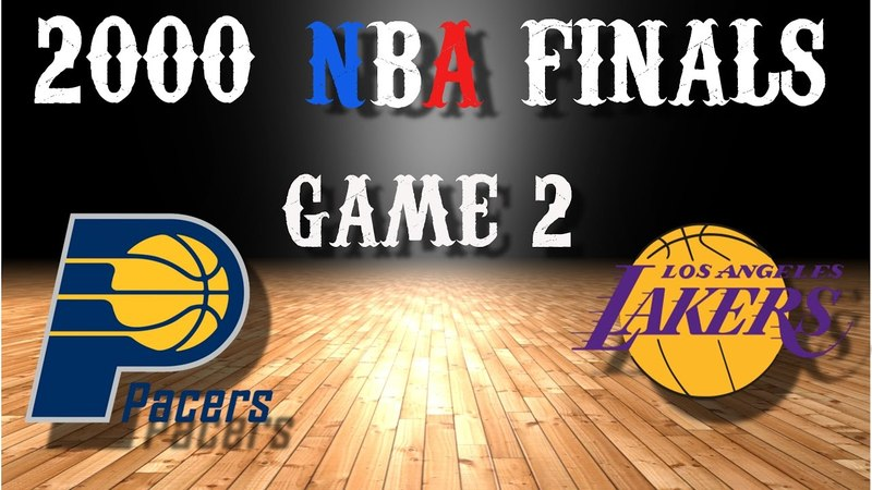2000 NBA Finals Game 2 Indiana Pacers@Los Angeles Lakers