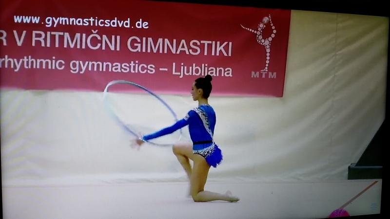 Natela Bolataeva , hoop , EF ( MTM Ljubljana 2018 )