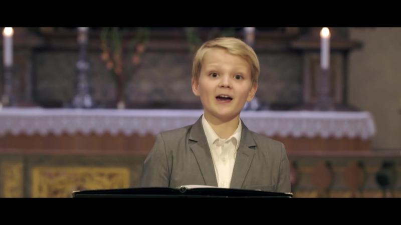Aksel Rykkvin (12yo) - Mozart: Alleluia, from Exsultate, Jubilate (Oslo Cathedral)