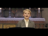 Aksel Rykkvin (12yo) - Mozart Alleluia, from Exsultate, Jubilate (Oslo Cathedral)