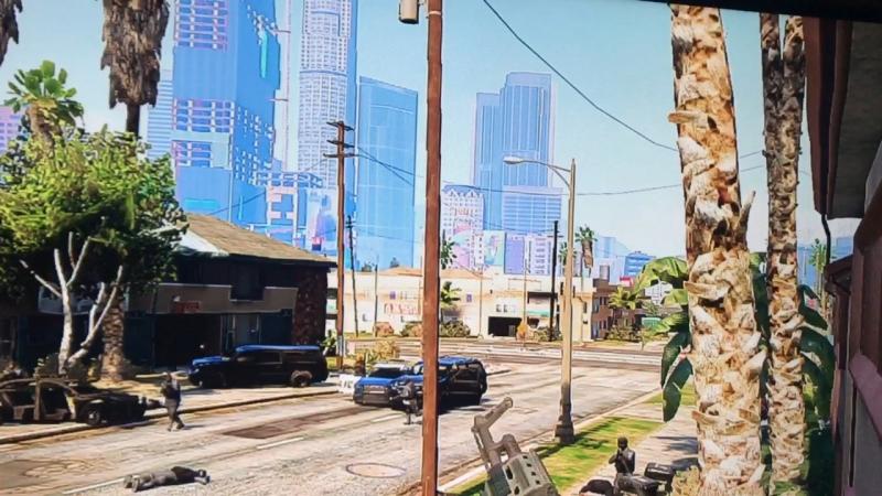 """😂 GTA V misión, """"búsqueda implacable"""" 😎"""