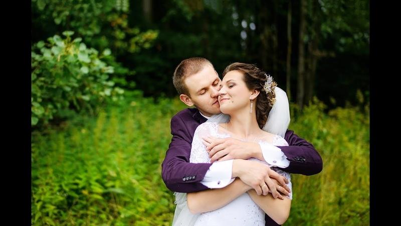 Нежная свадьба в Жировичах Александр и София