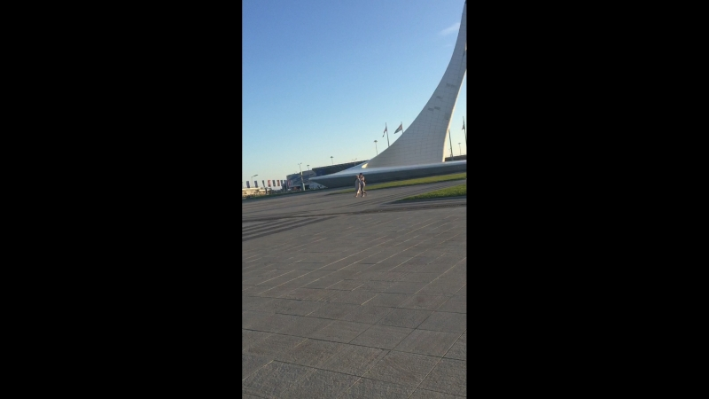 Прогулка по олемпийским объектам