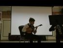 Вариации на две татарские песни Исполняет Анисим Зубарев Концертмейстер Юрий Прохоров
