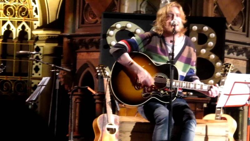 Smith Burrows - Before I Fall To Pieces - Union Chapel, Islington 12/12/2011