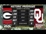 NCAAF 2017 / CFP Semifinal 1 - Rose Bowl / (3) Georgia Bulldogs - (2) Oklahoma Sooners / 1Н / 01.01.2018 / EN
