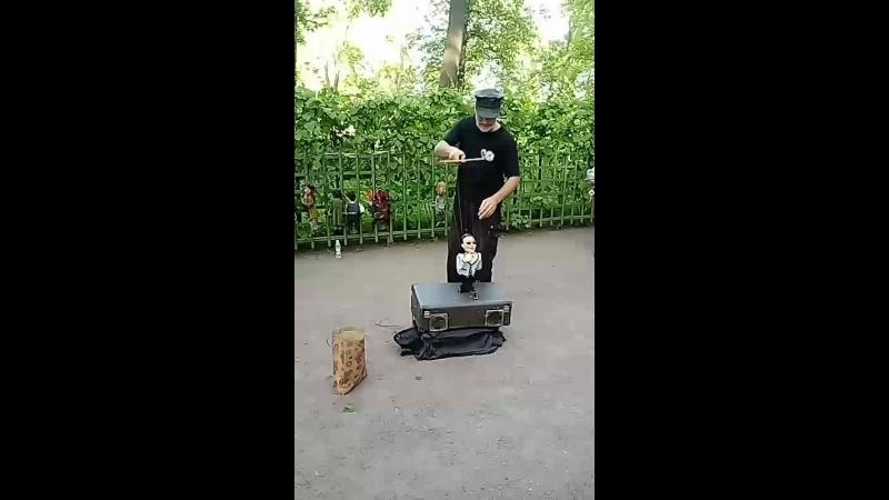 Санкт Петербург Летний сад Кукольное представление