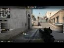 1 vs 5 ACE 1 shot 2 kill in smoke