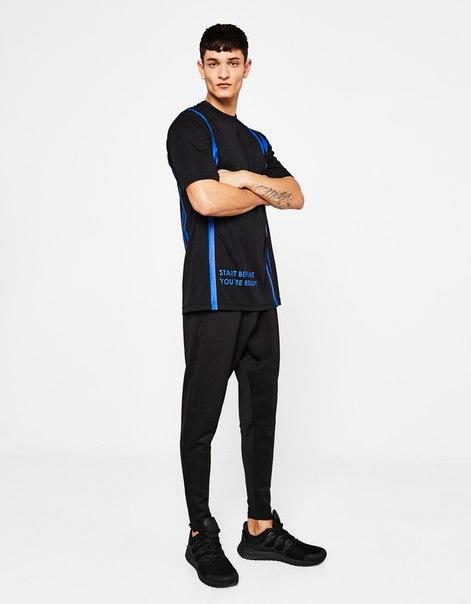 Спортивная футболка из высокотехнологичной ткани
