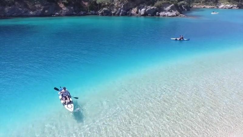 Oludeniz Beach - Blue Lagoon - Olu deniz Fethiye Turkey.mp4