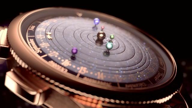 Van Cleef Arpels Complication Poétique™ Midnight Planétarium