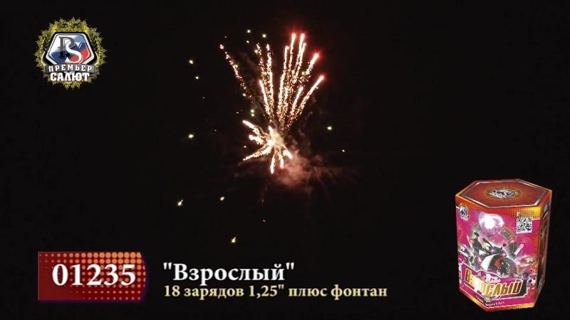 01235Взрослый 1.2 18 зарфонтан