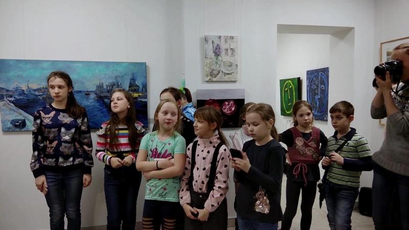 Открытие выставки молодых художников Точка Росы