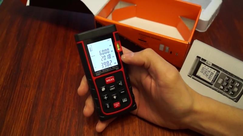 Лучший дальномер с алиэкспресс обзор тест и сравнение с Bosch DLE 40 professional.