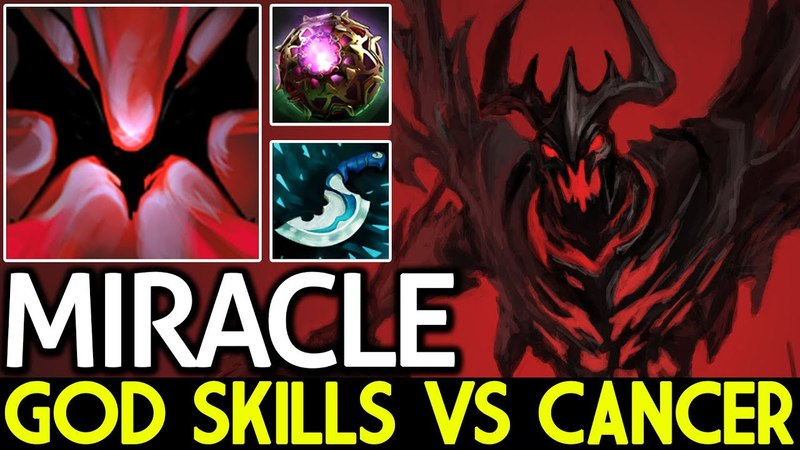 Miracle- [Shadow Fiend] Epic Game God Skills VS Cancer 7.13 Dota 2