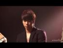 101214 Jino - Incomplete (Jonghyun Focus Reaction) @ Sukira Open Concert