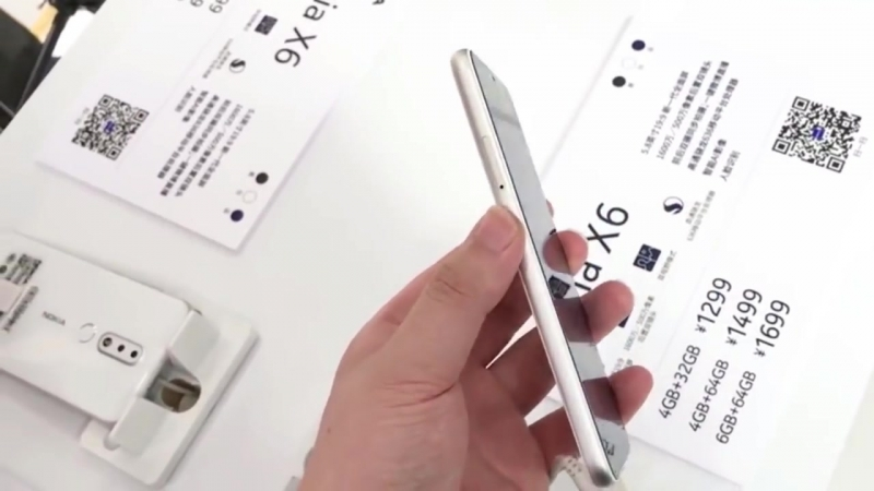 Nokia X6 Unboxing Hands On