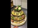 Торт кафе бульвар Сен Жермен