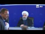Пресс-конференция по итогам трехсторонней встречи Владимира Путина с президентами Ирана и Азербайджана в Тегеране