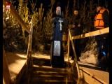 В Самаре освятили крещенскую прорубь на Полевом спуске