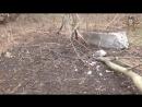 Обстрел Саханки со стороны ВСУ