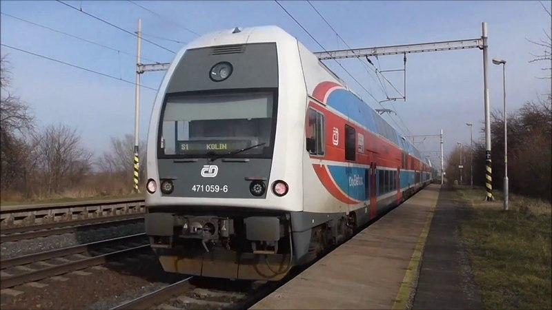 Šocení | Vlaky na zastávce Tuklaty 20.2.2018