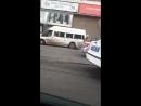 видео с места ДТП на ул. Аэродромная у тц Аврора
