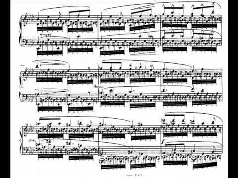 Alkan 12 Etudes in all Major Keys, Op.35 - No.8 in A Flat Major