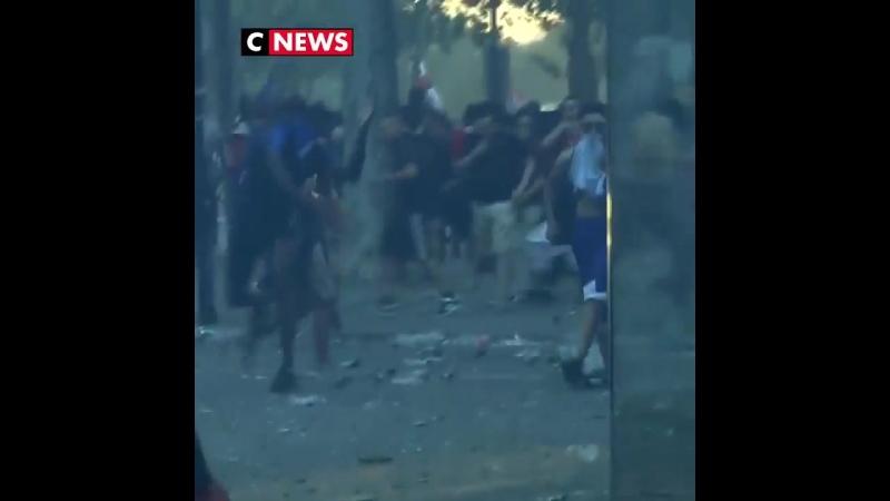 французы празднуют победу на ЧМ2018 MDK DAGESTAN