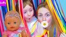 БЕБИ БОРН ЛЕНТОЧНЫЙ ЛАБИРИНТ кукла БЕБИ БОН ЭМИЛИ BABY BORN МОСКВА ВДНХ РАЗВЛЕЧЕНИЯ ДЛЯ ДЕТЕЙ