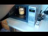 Гороховая мастырка за 10 минут в микроволновке...