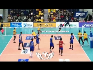 KOREAN VOLLEYBALL SAVE !! FEARLESS !!
